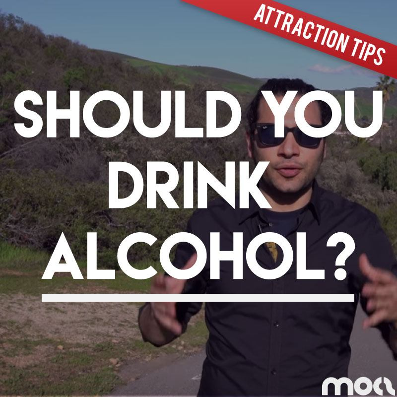 Should You Drink Alcohol When Talking To Girls? What To Say If She Asks